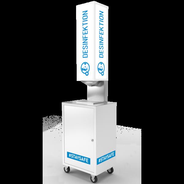 Desinfektionsdispenser XL Tower