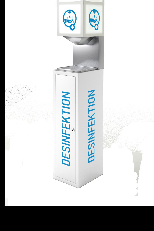Desinfektionsmittelspender Dispensoo L Box
